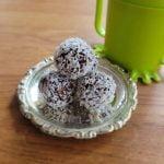 Chokladbollar utan dadlar