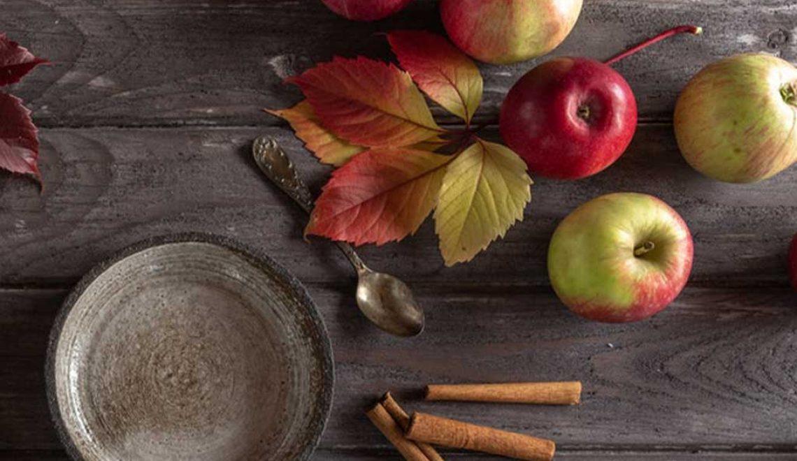 Klämmis med äpple och kanel